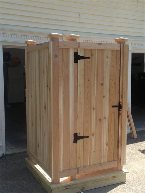 portable outdoor shower kit 17 best ideas about outdoor shower enclosure on