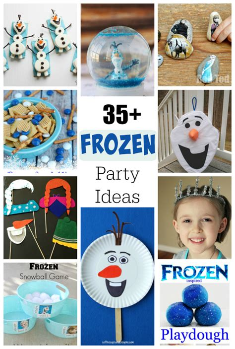 frozen themed party games 35 frozen birthday party ideas make and takes