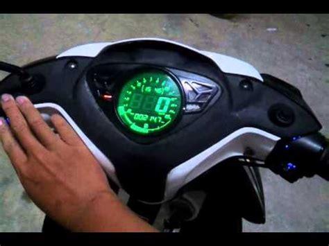 Speedometer Digital Jupiter Mx speedometer koso digital yamaha mio doovi