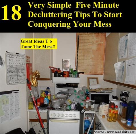 024 tips for conquering your 18 very simple five minute decluttering tips to start