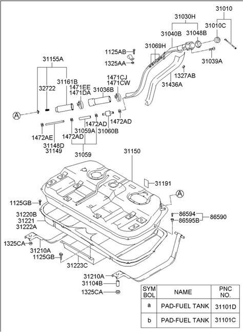33 2004 Hyundai Santa Fe Parts Diagram - Wiring Diagram