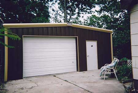 metal garages steel buildings systems houston