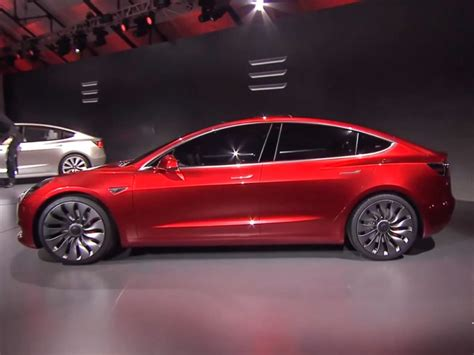All Electric Tesla Tesla Announces Model 3 An All Electric Sedan For The Masses