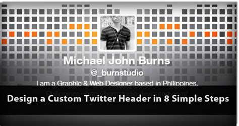 design custom header design a custom twitter header articles dmxzone com