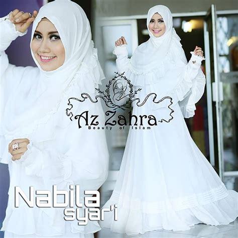 Aisyah Azzahra Syari Mint Baju Muslim busana muslim nabila syar i by azzahra