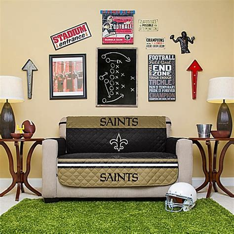 futon store new orleans nfl new orleans saints love seat cover bed bath beyond