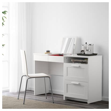 brimnes dressing table chest of brimnes dressing table chest of 2 drawers white ikea