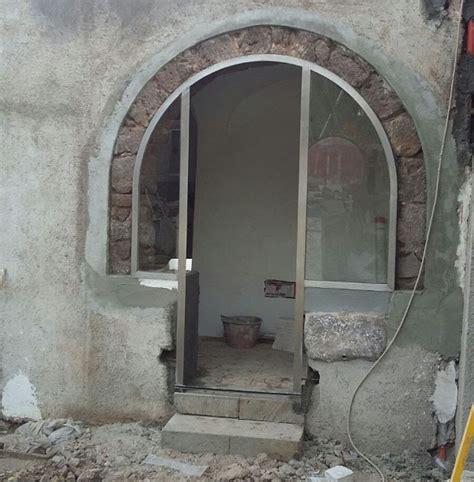 porte con arco porta con arco a pantelleria giacalone infissi marsala