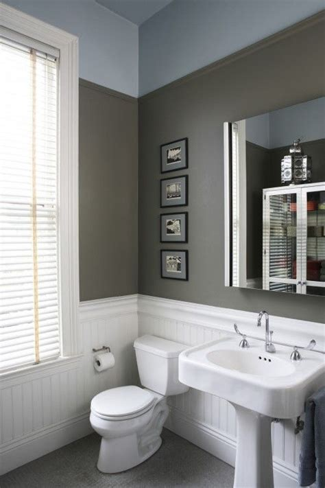 bathroom wall paint colors beadboard wall color for the home pinterest