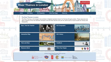 river thames map worksheet river thames london grid for learning