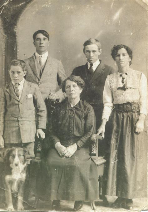 family during ww1