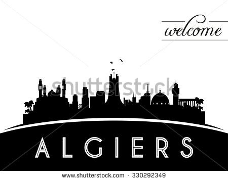 indonesia skyline silhouette black white design stock alger stock images royalty free images vectors