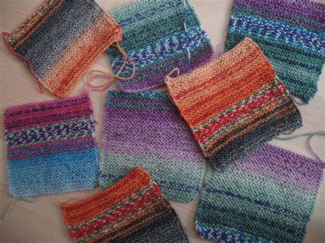 decke stricken aus wollresten decke aus patches gestrickt b 228 rbel 180 s