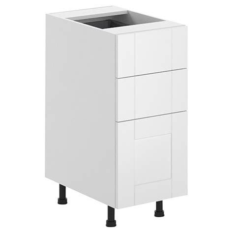 reno depot kitchen cabinets fabritec quot urban chic quot 3 drawer kitchen cabinet white