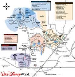 Disney World Transportation Map by Getting Around Walt Disney World Passporter Blogs