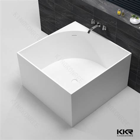 square bathtub square hot design freestanding resin bathtub buy square