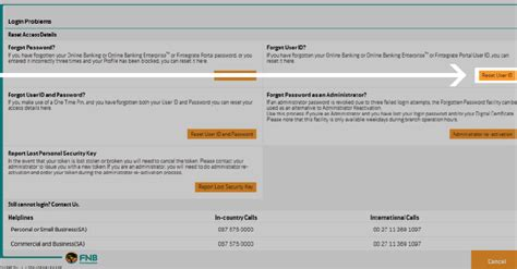 reset fnb online banking username how to reset your username how to demos fnb