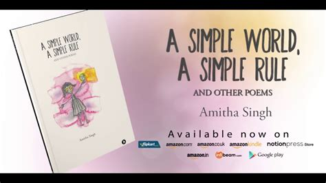Amitha Maxy a simple world a simple rule and other poems by amitha