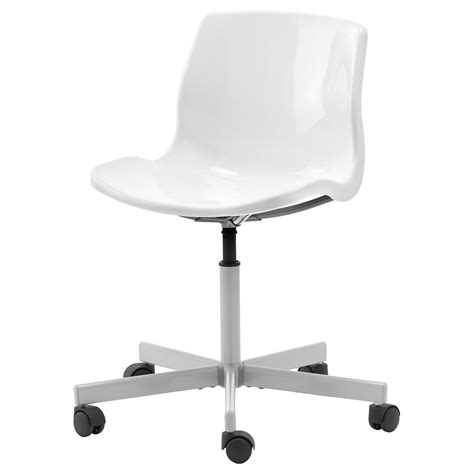 Ikea Computer Desk Chair Snille Swivel Chair White Ikea