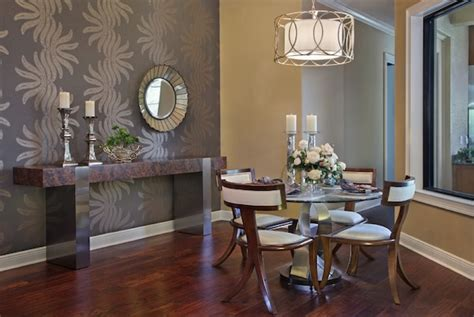 wallpaper ideas for dining room deciding on the perfect accent wall shade for your dining