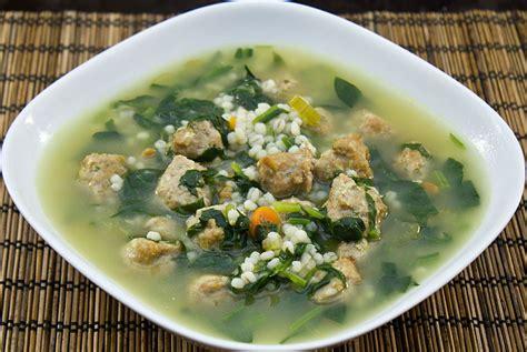 italian soup light italian wedding soup recipe dishmaps