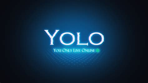 Cool Yolo Wallpaper | yolo blue online computer wallpaper 1600x900 125745