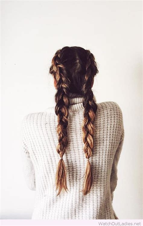 easy hairstyles with plaits cool french braids hairstyles pinterest french