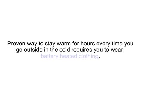 how to your to stay outside how to stay warm in cold winter outside