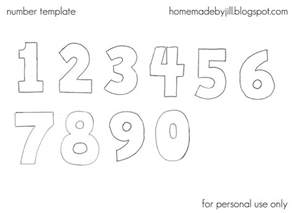 Number Stencil Templates Free by Number Templates Beepmunk