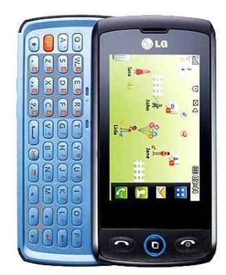 Handphone Lg Class data harga handphone lg gw520