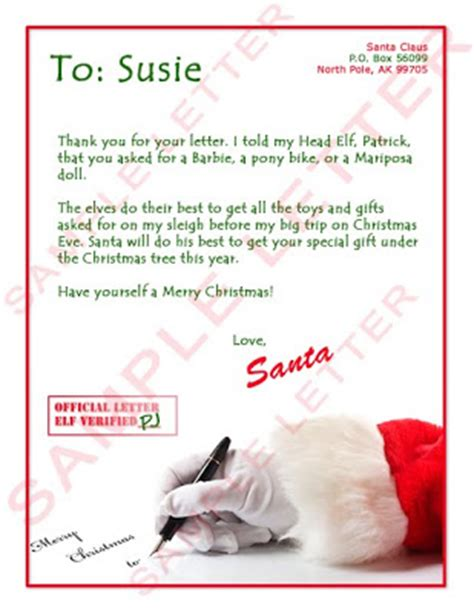 Free Santa Claus Letters For Kids Pictures And Template Backgrounds Free Santa Reply Letter Template