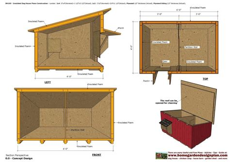 how to make house plans insulated dog house plans inspirational home garden plans