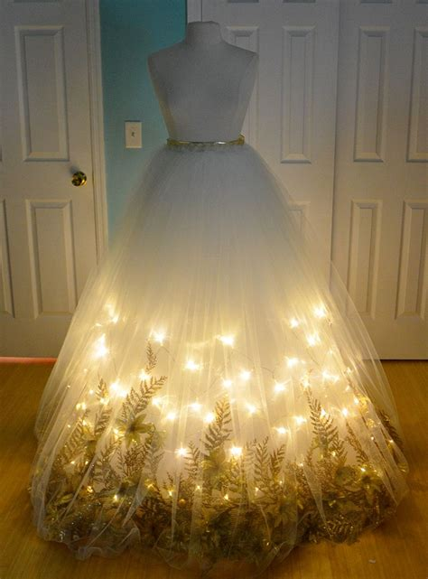 making  christmas angel costume part  ball gowns
