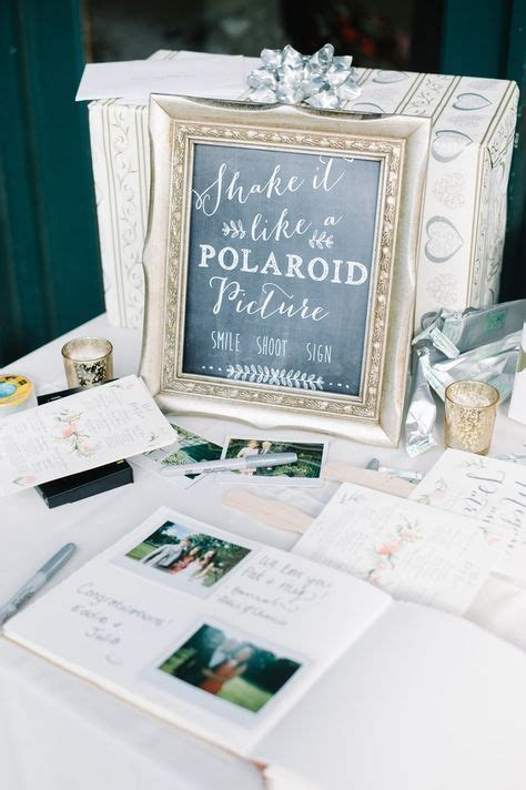 25  best ideas about Polaroid Guest Books on Pinterest