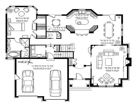 home floor plans contemporary modern small house plans modern house floor plans