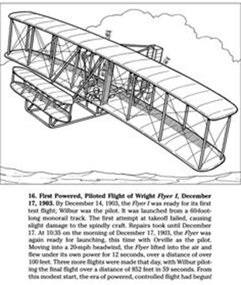 Wright Brothers On Pinterest Alexander Graham Bell Wright Brothers Coloring Page