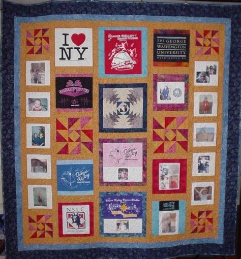T Shirt Quilt Blocks by Quilted With Tlc Quilt Gallery T Shirt Quilts