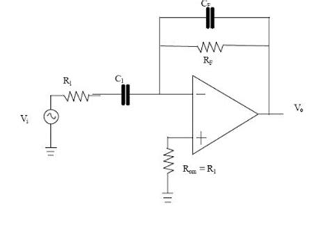 circuit diagram of integrator and differentiator using op free schematic diagram differentiator op circuit