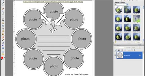 free templates for photoshop elements ideas for scrapbookers how to print templates and format