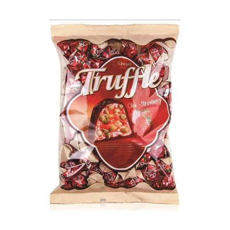 Elvan Truffle 500g Chocolate Coklat elvan truffles strawberry 500g kaimay confectionery