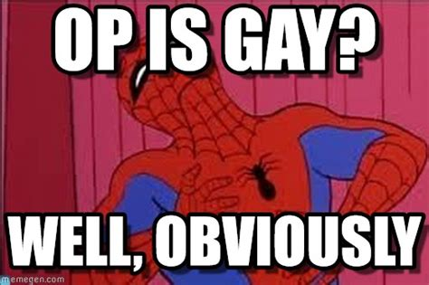 Gay Spiderman Meme - gay spiderman meme 28 images allows gay marriage in x