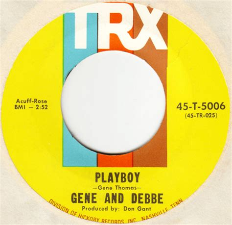 gene and debbe gene and debbe playboy i ll come running at discogs