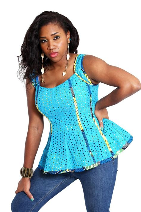 latest ankara jacket 104 best african fashion blouses shirts images on