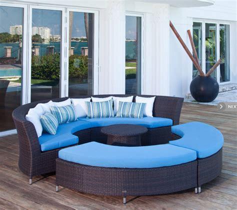 Modular Outdoor Sofa san diego modular outdoor circle sofa set contemporary