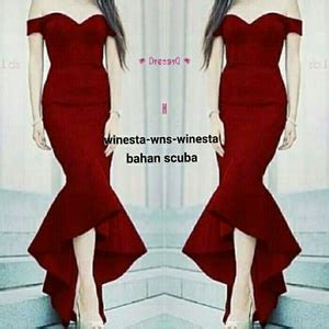 Maxy Pesta by Model Baju Gaun Dress Maxy Pesta Model Sabrina Terbaru