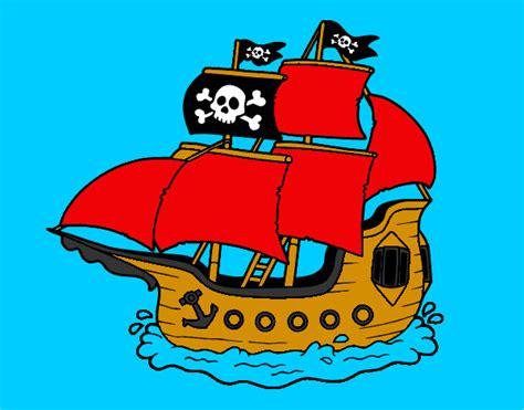 barco pirata dibujo dibujos de barco pirata imagui