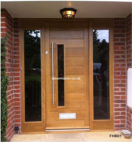 Exterior Door Uk Contemporary Front Doors Oak Iroko And Other Woods Bespoke Doors