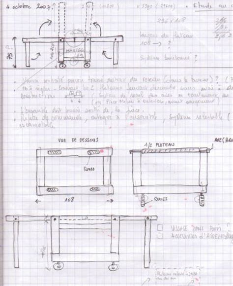 Table Pliante Exterieur 550 by Carnet De Notes 2008