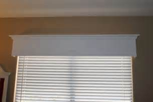 Pre Made Window Cornices Tutorial How To Make A Wood Valance Window Treatment I