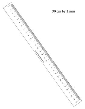 printable photo documentation ruler 30 cm by mm ruler printable ruler